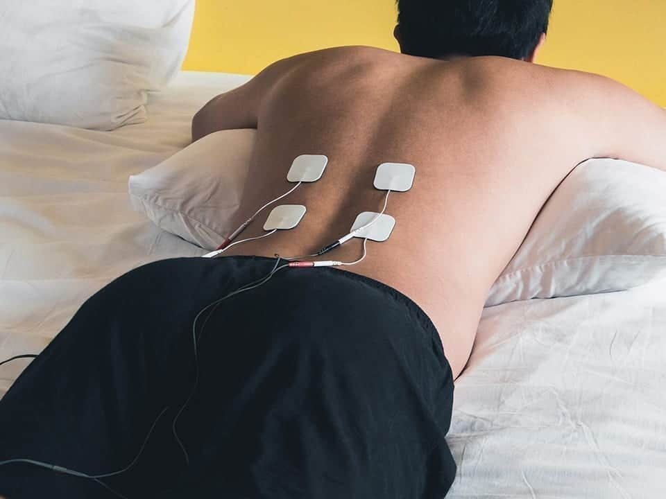 Tens for physiotherapy treatment at Pillars of Wellness in Burlington,Ontario