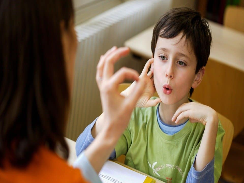 Children treated for stuttering