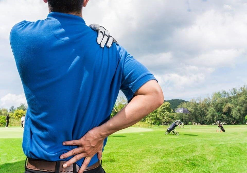 Golf injuries can be treated at Pillars of Wellness
