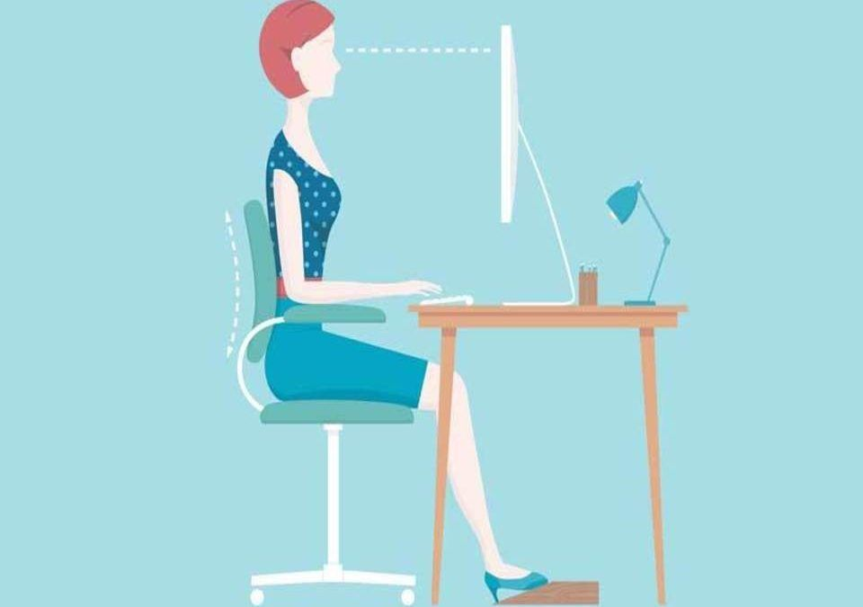 Our occupational therapist can help with your workplace ergonomics