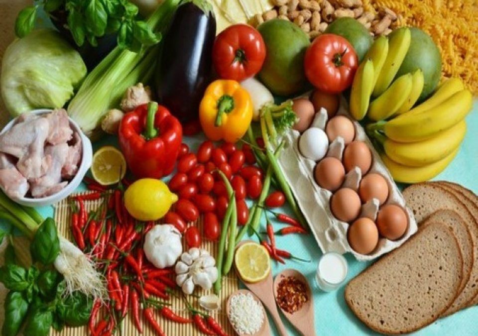 Different nutrients for good nutrition